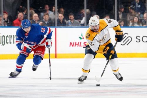 Game Thread: Nashville Predators vs. New York Rangers 10/21/21