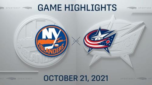 NHL Highlights: Blue Jackets 3, Islanders 2 (OT)