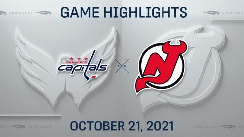 NHL Highlights: Capitals 4, Devils 1