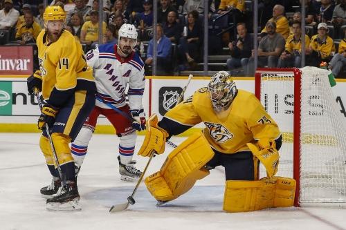 Recap: Nashville Predators 1, New York Rangers 3: Tomasino's night spoiled by Rangers