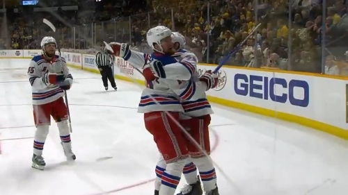 Lafreniere buries his second of the season off pretty play from Rangers