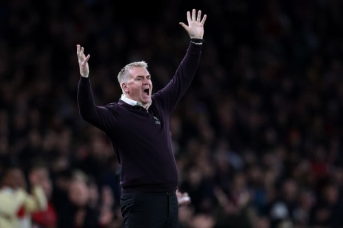 'Dominated' - Dean Smith questions Aston Villa players after stinging Arsenal defeat
