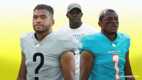 RUMOR: Tua Tagovailoa's future with Dolphins amid Deshaun Watson trade talks, per Brian Flores