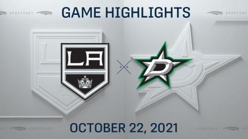 NHL Highlights: Stars 3, Kings 2 (OT)
