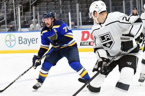 Kings at Blues game preview: Buchnevich, Saad out for tonight