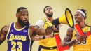 Lakers star LeBron James sounds off on Anthony Davis-Dwight Howard altercation