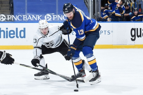 Projected lines for Kings at Blues
