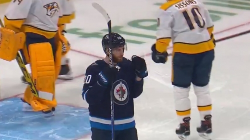 Jets' Dubois scores in fourth straight game
