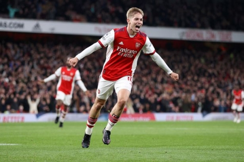 What Emile Smith Rowe did after scoring for Arsenal against Aston Villa