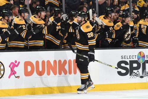 Recap: Bruins edge out Sharks, 4-3