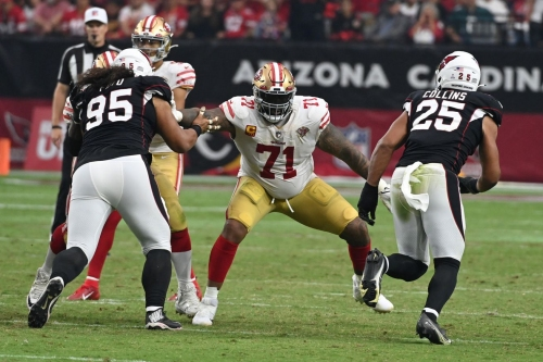 49ers vs. Colts inactives: Trent Williams is out; Jaylon Moore makes his first career start