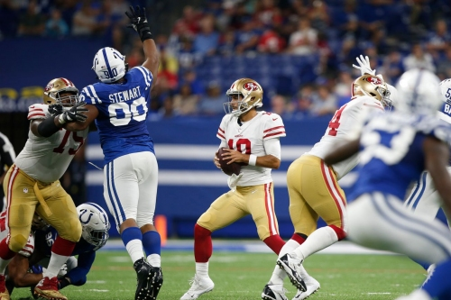 NFL Week 7: Sunday Night Football Indianapolis Colts vs San Francisco 49ers