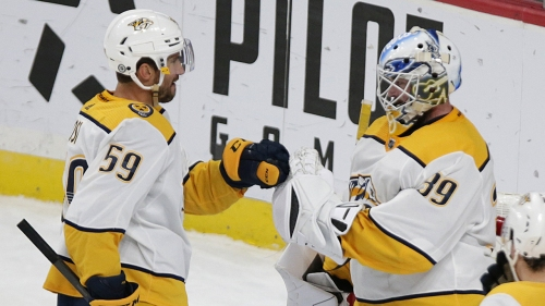 Josi's four-point game fuels Predators' victory over Wild