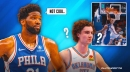 Sixers commentator's bizarre rant against Josh Giddey over Joel Embiid's scary fall
