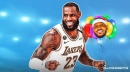 LeBron James reacts to Carmelo Anthony going off for Lakers