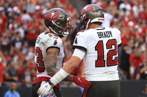 Notes and stats from the Buccaneers 38-3 win over the Bears