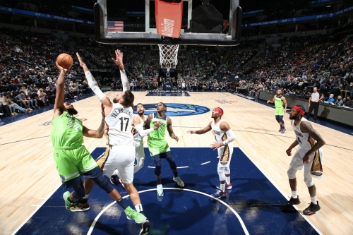 Resiliency, Physicality, and Luck Pushed the Wolves past the Pelicans