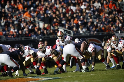 Bears open up as a home underdog vs the 49ers for week 8
