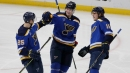 Weekend Takeaways: Young, fresh faces leading Blues to fast start