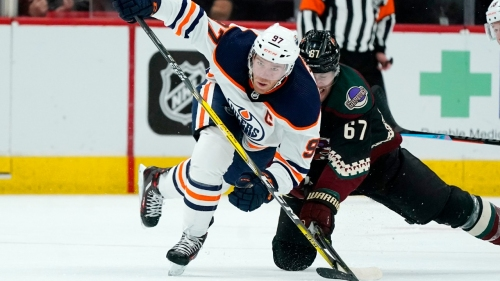 Oilers' McDavid, Jets' Connor among NHL three stars of the week