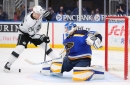 Kings at Blues probable lines: Ville or won't he?