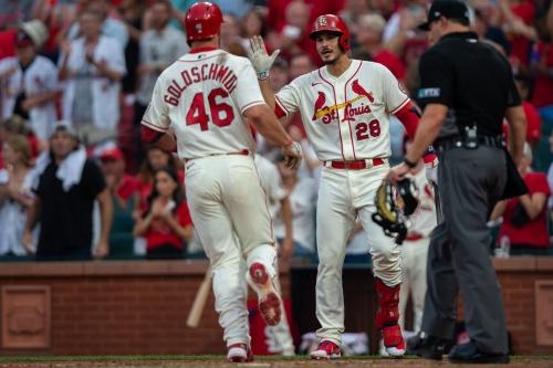 Cardinals score three finalists for Silver Slugger awards; Hicks returns from Arizona