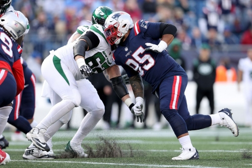 James Ferentz, Daniel Ekuale revert to Patriots' practice squad following Week 7 elevations
