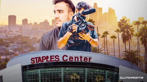 1-on-1: Lakers video producer Brayden Figueroa on LeBron James' leadership, Dwight Howards' dumbbells, and more