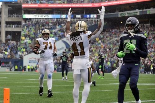 NFL 2021 Week 7: Monday Night Football New Orleans vs Seattle Seahawks