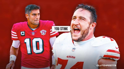Jimmy Garoppolo ripped by former 49ers teammate after lackluster performance vs. Colts
