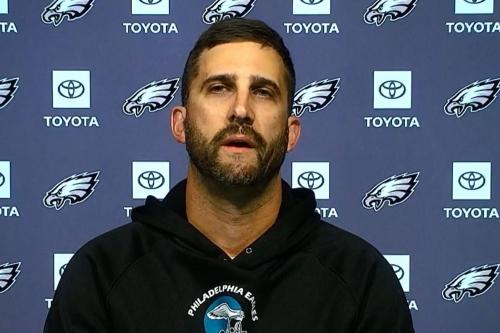 Nick Sirianni talks Fletcher Cox's criticism, Eagles defensive struggles and adjustments