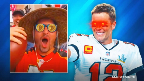 Buccaneers' Tom Brady admits to expensive Bitcoin payment to get 600th TD ball