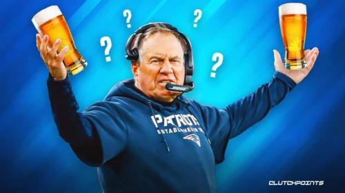 Patriots coach Bill Belichick reveals his favorite type of beer