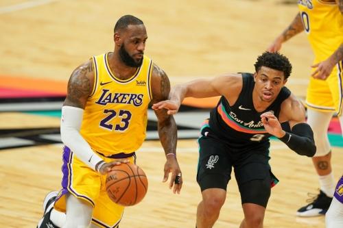 Game Preview: San Antonio Spurs vs. Los Angeles Lakers