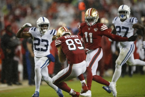 5 winners, 4 losers, and 1 IDK from the 49ers loss against the Colts