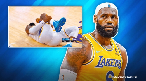 REPORT: LeBron James out for Lakers vs. Spurs