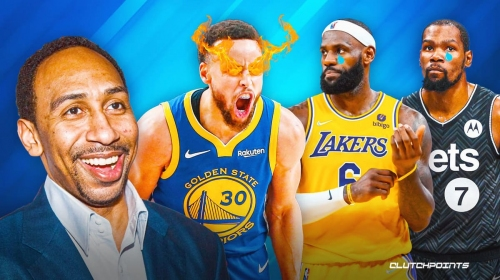 Stephen A. Smith's Warriors vs. Lakers, Nets prediction will please Stephen Curry