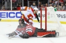 Flames Extinguish the Devils 5-3 as the Homestand Ends with a Thud