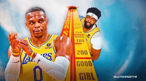 Lakers star Russell Westbrook challenged by Anthony Davis after breakout vs. Spurs