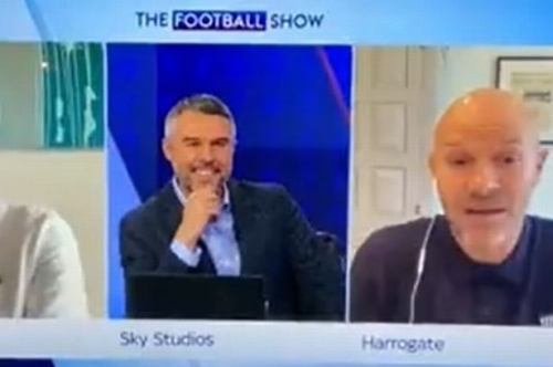 Danny Mills aims four-letter X-rated jibe at Manchester United in live Sky Sports blunder