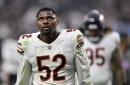 Bears' Khalil Mack out against 49ers