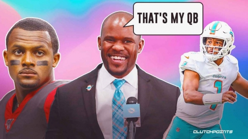 Dolphins coach Brian Flores speaks out on Tua Tagovailoa after latest Deshaun Watson trade rumors