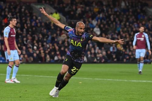 Burnley 0-1 Tottenham: Lucas fires Spurs to League Cup quarterfinals