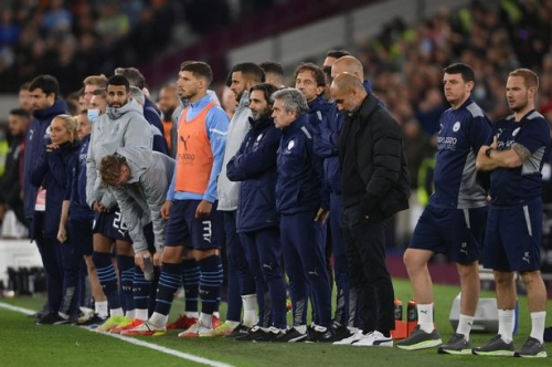 Man City player ratings vs West Ham as De Bruyne and Mahrez misfire in Carabao Cup exit