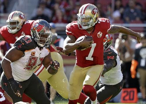 Saints focused on limiting 49ers quarterback Colin Kaepernick's production as a runner
