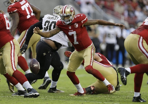 Colin Kaepernick plays best game of season in 49ers loss The Associated Press