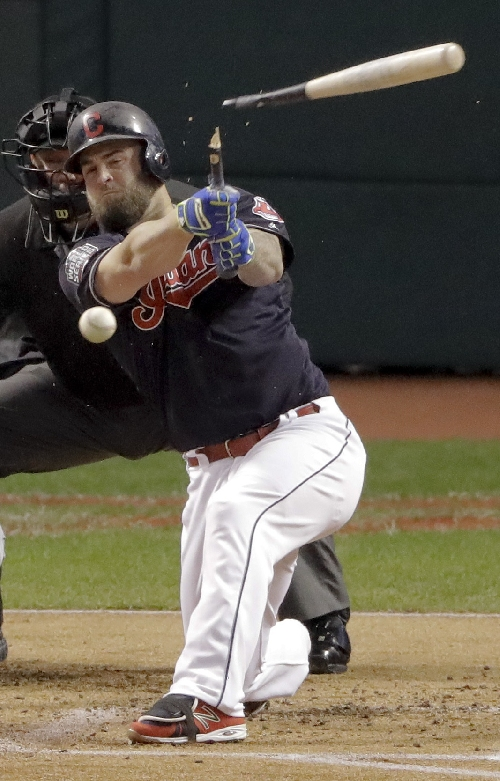 Indians do not make qualifying offers to Napoli, Davis The Associated Press