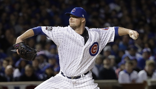 Cubs' Bryant, Lester, Hendricks, Maddon up for major awards The Associated Press