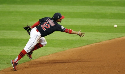 Shortstop Francisco Lindor is Cleveland Indians' first Gold Glove Award winner since Grady Sizemore