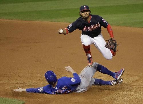 MLB: Cleveland Indians' shortstop Francisco Lindor among Gold Glove winners